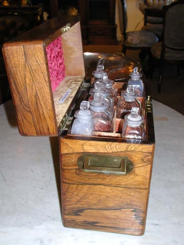 19th Century Doctor's Medicine Chest