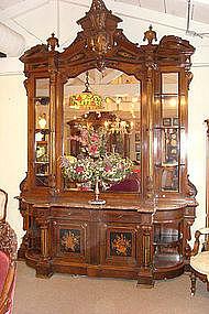 American Victorian Renaissance Revival Etagere