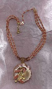 Miriam Haskell Pendant Necklace