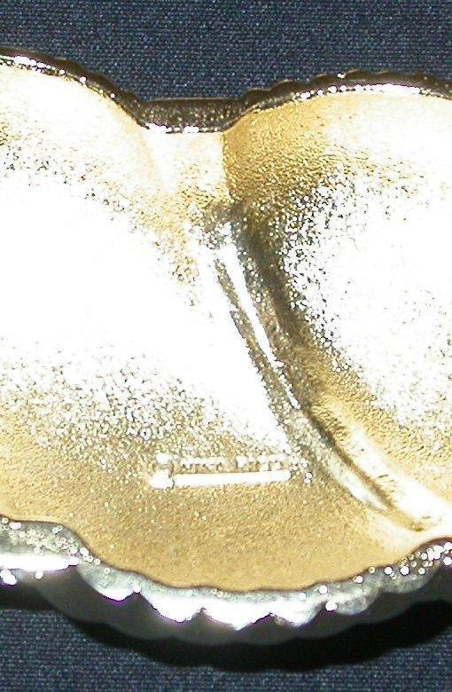 NINA RICCI GOLD AND RHINESTONE CHOKER