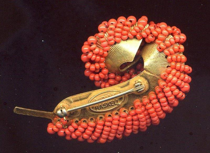 MIRIAM HASKELL FEATHER PIN
