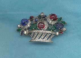 Deco Style Brooch