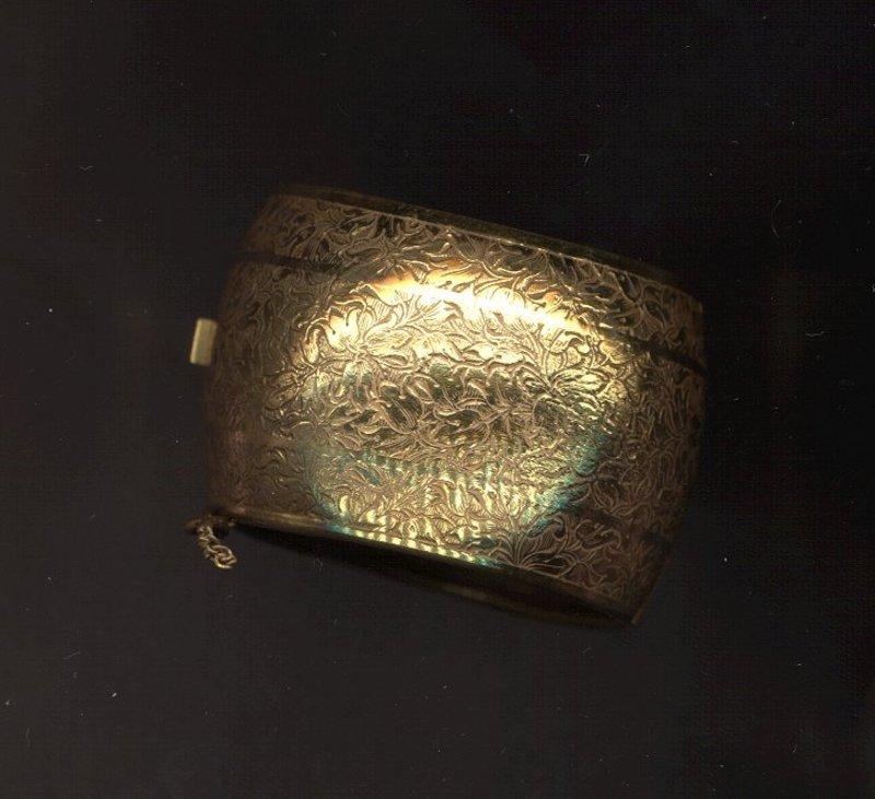 Miriam Haskell Cuff Bracelet