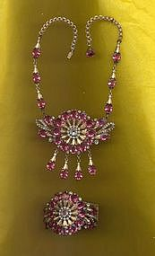 Crystal and Rhinestone Set