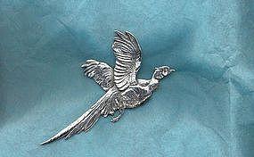 Cini Sterling Bird Brooch