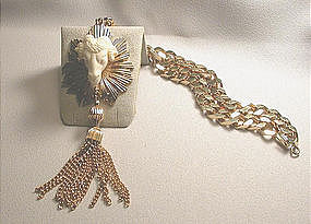 NETTIE ROSENSTEIN PENDANT NECKLACE