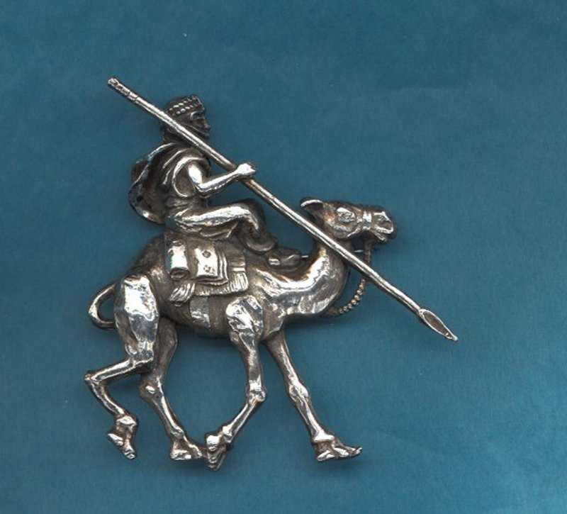 "Korda ""Thief of Bagdad"" Brooch"