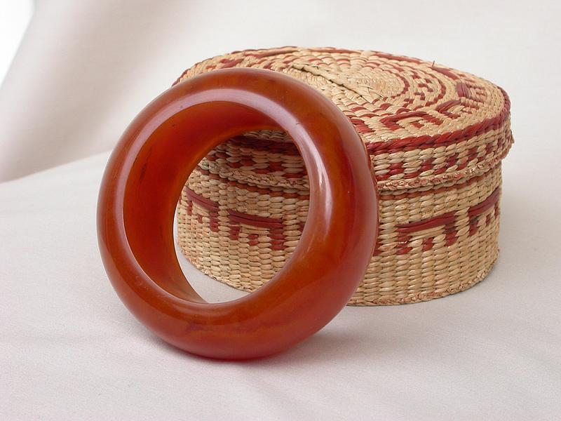 HUGE BAKELITE BANGLE