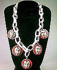 Unusual Bakelite Necklace