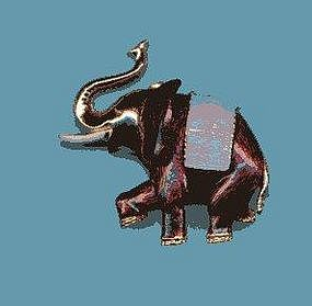 BOUCHER ELEPHANT PIN