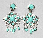 KENNETH J LANE DANGLE EARRINGS (KJL)