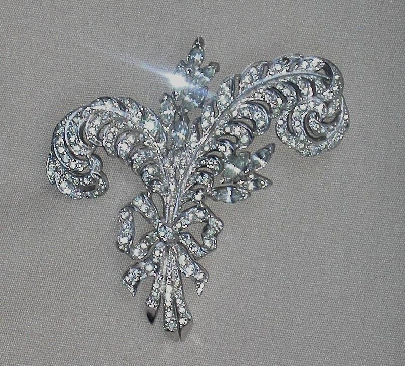 MARCEL BOUCHER FEATHERS BROOCH