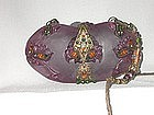 ORNATE PURPLE PURSE BY MAYA