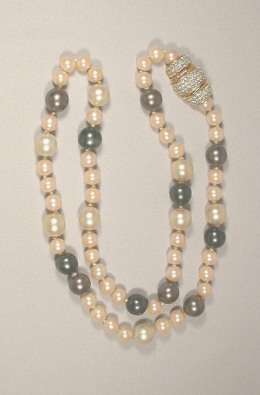 KENNETH J LANE PEARL NECKLACE