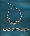 Christian Dior Rhinestone Necklace/Bracelet