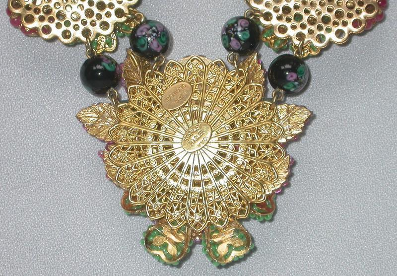 NECKLACE AND EARRINGS BY ST. GIELAR FOR STANLEY HAGLER