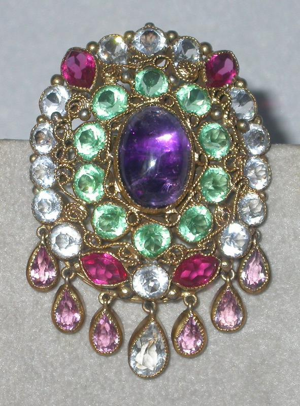 OLD HOBE BROOCH-PENDANT