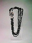 Robért Black Beaded Necklace