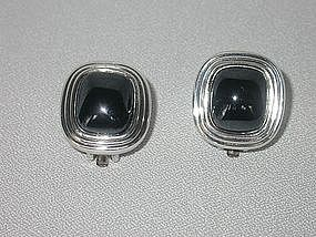 DIOR SILVER EARRINGS