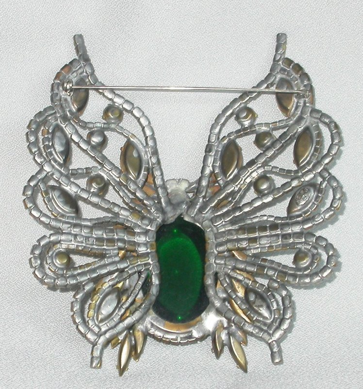 ANCIENT WEISS BUTTERFLY BROOCH