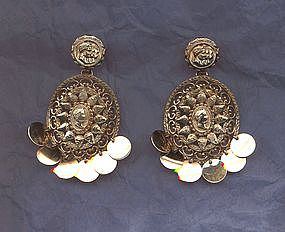 Nettie Rosenstein Dangle Earrings