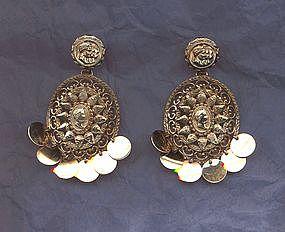 Nettie Rosenstein Dangle Earrings