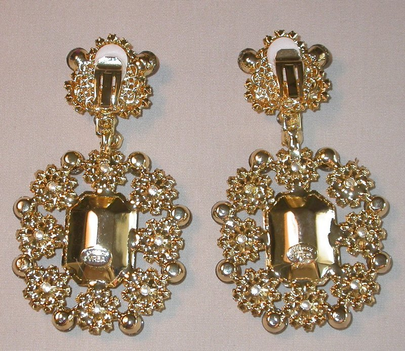 LAWRENCE VRBA DANGLE EARRINGS
