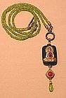 PATRICE BUDDHA PENDANT NECKLACE