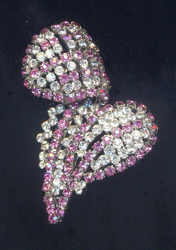 CHRISTIAN DIOR  LEAF BROOCH