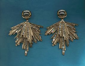 Yves Saint Laurent Dangle Earrings