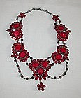 TRANSLUCENT RED WINE NECKLACE