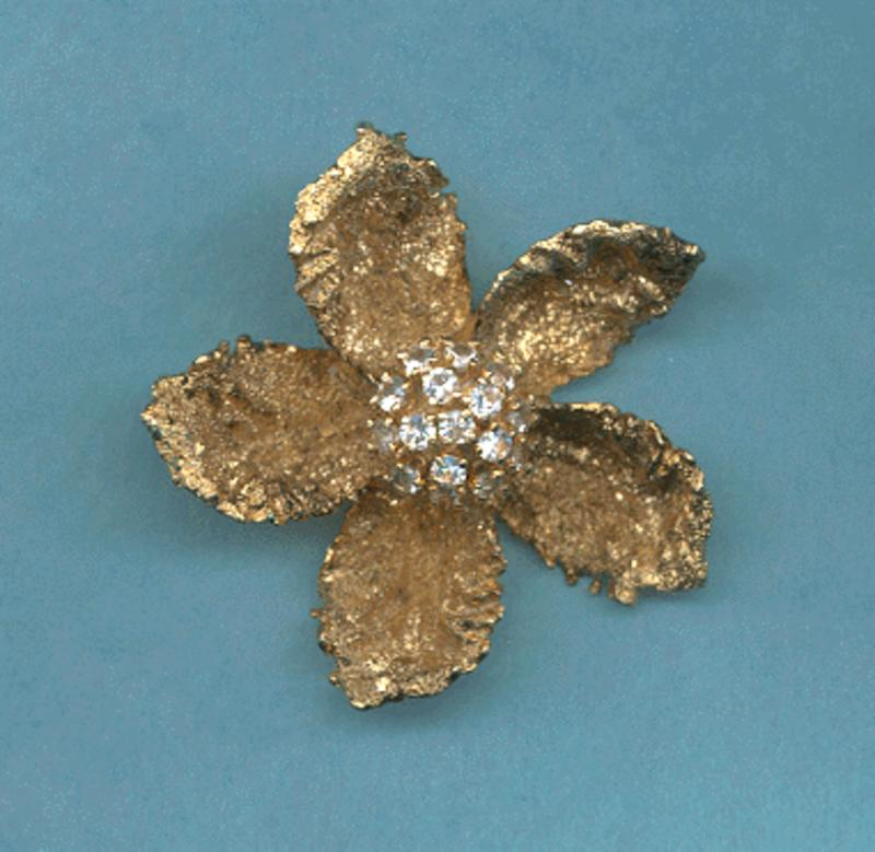 Les Bernard Sterling Brooch