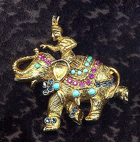 VENDOME ELEPHANT BROOCH