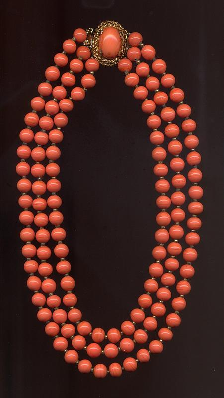 DE NICOLA GLASS BEADS NECKLACE
