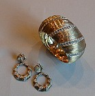 NETTIE ROSENSTEIN STERLING VERMEIL SET