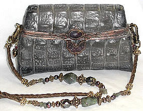 """ALLIGATOR"" PURSE BY MAYA"