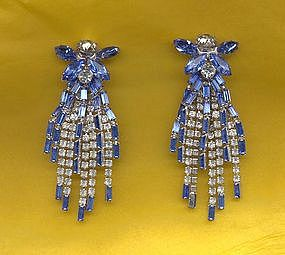 Hattie Carnegie Dangle Earrings