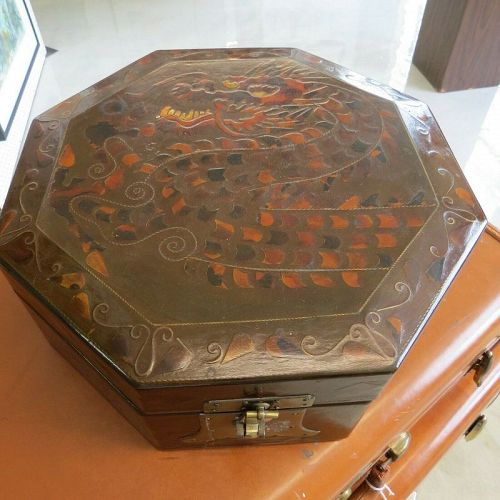 Korean Mother-of-Pearl Octagonal Box