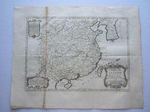 "A Very Rare/Important Antique Korean B&W Map/MER DE COREE ""대한해협"" - yea"