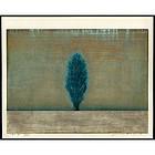 Joichi Hoshi Woodblock - One Tree