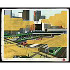 Matthew Messmer Contemporary Limited Edition Japanese Woodblock