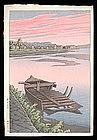 Early Hasui Woodblock - Tsuchisaki