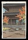 Hasui Woodblock - Nanzenji Temple, Kyoto