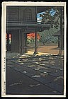 Hasui Woodblock - Heiringi Temple at Nobidome