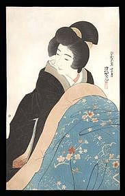 Limited Edition Woodblock by Ito Shinsui