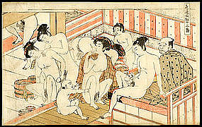 Erotic japanese woodblock prints