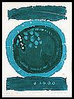 Joichi Hoshi Woodblock Print - Snow Ball (B)