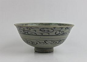 Yuan Dynasty B/W Bowl