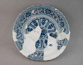 A Rare Example Of Yuan Dynasty B/W Dish