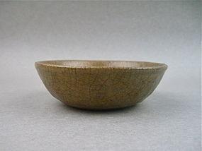 A Longquan 'GE'  Style Celadon Bowl